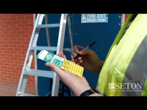 Laddertag, Replacement holders and Inserts | Seton UK