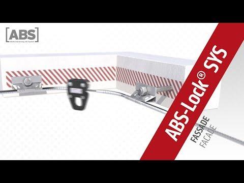 Kompakte Video-Präsentation zum Seilsicherungssystem ABS-Lock SYS an Fassaden.