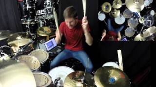 Crawling In The Dark   Drum Cover   Hoobastank