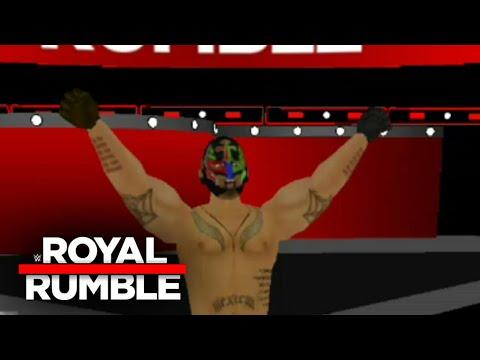 AJ styles Vs Rey Mysterio -- WR3D - смотреть онлайн на Hah Life