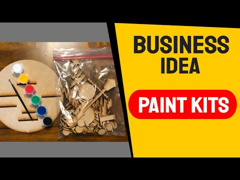 , title : 'DIY Paint Kits - Glowforge Laser Business Idea - Make Money with Lasers