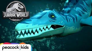 Underwater Monster Rescue   LEGO JURASSIC WORLD: LEGEND OF ISLA NUBLAR