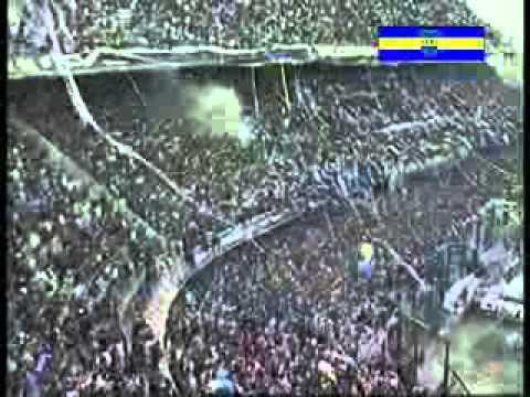 """Recibimiento - Boca vs. River - Superclasico 2009"" Barra: La 12 • Club: Boca Juniors • País: Argentina"
