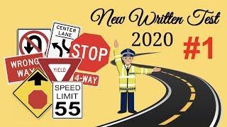 2020 PERMIT EXAM TEST QUESTION ACTUAL/ PART 1/DRIVERS LICENSE /DMV WRITTEN TEST