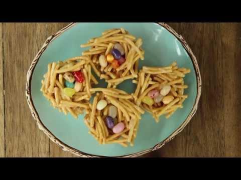 How to Make Jelly Bean Nests | Easter Recipes | Allrecipes.com