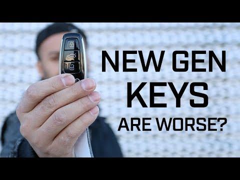 Audi Keys - New Vs Old - Which Key Has Longer Range?