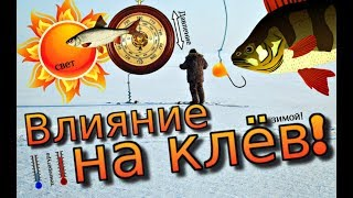 При каком давление клюет рыба
