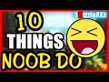 10 THINGS NOOBS DO IN ZOMBIES - ARE YOU A NOOB? (10 Mistakes Call of Dut...