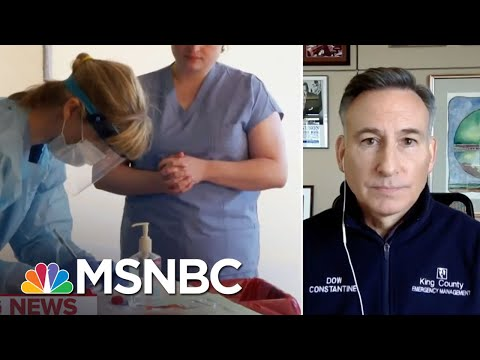 'There's Clearly Some Good News In These Numbers' In Washington State | MTP Daily | MSNBC