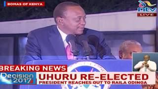 Come let's work together, Uhuru tells Raila - VIDEO