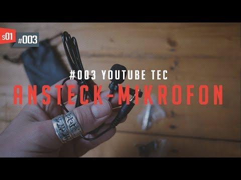 E03•S01 - Technik für Youtube | Ansteckmikrofon (DE/ENG)