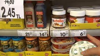 Супермаркет Şok Турция Аланья Цены и короткий обзор товаров