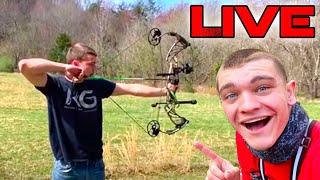 Slinging Arrows with KG! *LIVE*
