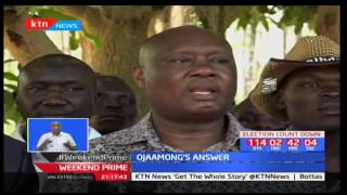 Busia governor Sospeter Ojaamong insist he won the Busia nominations in a free and fair manner