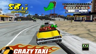 Playing Crazy Taxi for the first time in 2018!