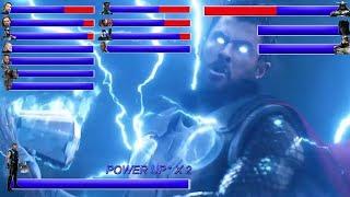 AVENGERS INFINITY WAR Final Battle ... With Healthbars   Battle in Wakanda: Wakanda Forever ? (HD)