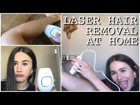 I Tried Laser Hair Removal At Home! | Carly Rivlin