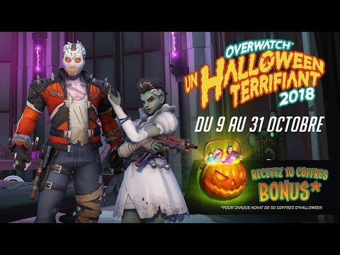 Overwatch : Un Halloween terrifiant – 2018