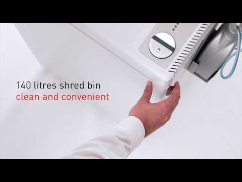 Video of the IDEAL 3105 CC P-4 Shredder