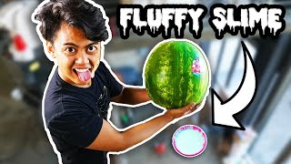 Watermelon Vs Slime from 250cm!