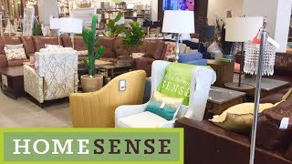 HOME SENSE HOME FURNITURE SOFAS COUCHES ARMCHAIRS DECOR SHOP WITH ME SHOPPING STORE WALK THROUGH