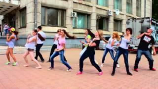 Танцевальный флешмоб | день города | Комсомольск-на-Амуре | 12.06.2013