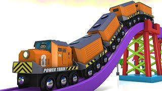 Toy Factory Train -Trains for kids - Choo Choo Train - Brio Trains - Cartoon Cartoon