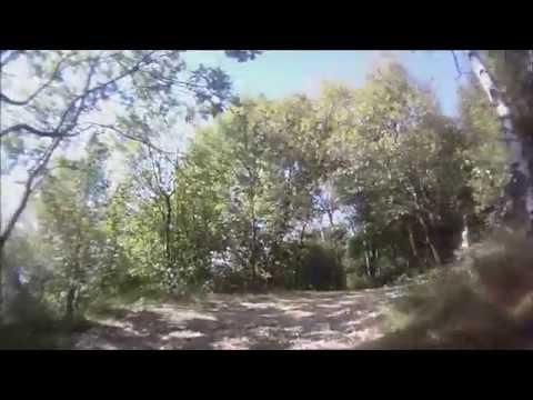 In cima al Campo dei Fiori in mountain bike