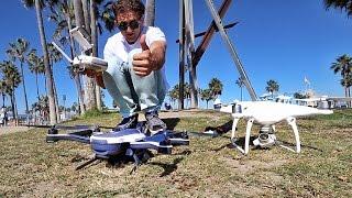 DRONE BATTLE GoPro Karma vs. Phantom 4