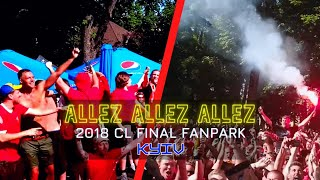 Epic! Liverpool Fans Sing Allez Allez Allez In Kyiv, Jamie Webster + ABossNight CL Final Fan Park
