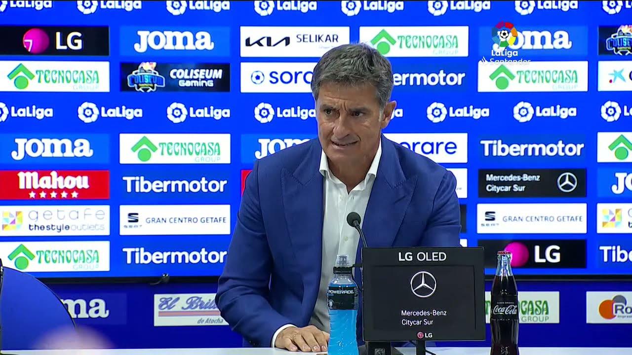 Rueda de prensa Getafe CF vs Atlético de Madrid