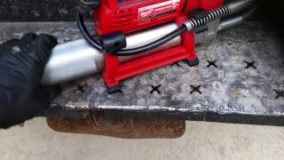 How To Fill A Grease Gun