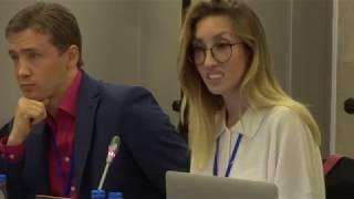 Ольга Шарій // Виступ на конференції ОБСЄ, Варшава, 10 вересня 2018 року