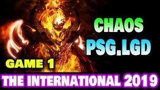 CHAOS VS PSG LGD GAME 1   4 Man Requiem of Souls Dota2 TI9