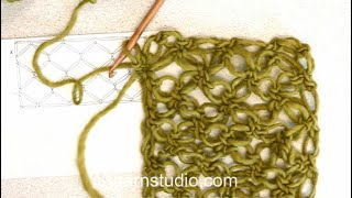 How To Crochet A Love Knots Square