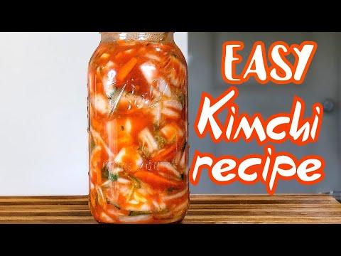 Easy Kimchi Recipe Vegan – Healthy Recipe Channel