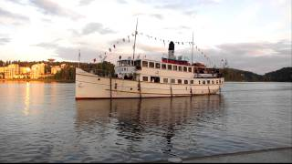 S/S Suomi returning from lake paijanne to Jyvaskyla Harbour HD