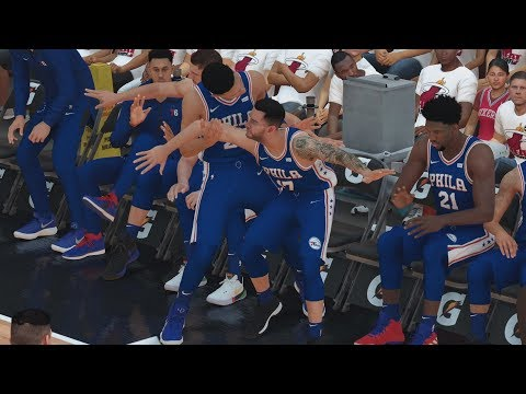 NBA 2K19 My Career EP 71 - Bench Loves Highlights! QFG4