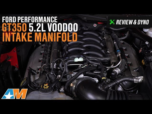 Ford Performance GT350 5 2L Voodoo Intake Manifold (15-17 GT