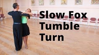 Slow Foxtrot Tumble Turn - Intermediate Dance Routine