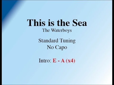This is the Sea - Easy Guitar (Chords and Lyrics)