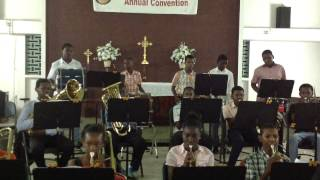 GLMA Brass and Percussion- The National Anthem of Guyana
