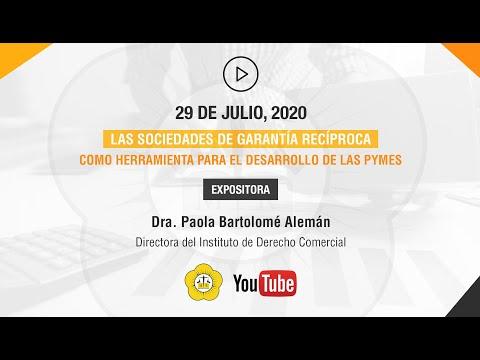 LAS SOCIEDADES DE GARANTÍA RECÍPROCA COMO HERRAMIENTA PARA EL DESARROLLO DE LAS PYMES - 29 de Julio 2020