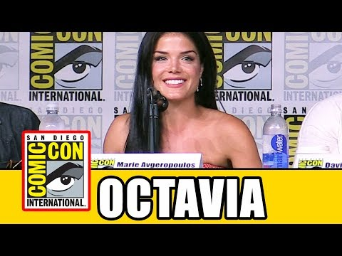 """THE 100 Marie Avgeropoulos """"Octavia"""" Comic Con Interview 