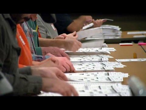 أنصار ترامب يمنعون إعادة فرز أصوات بـ3 ولايات أمريكية
