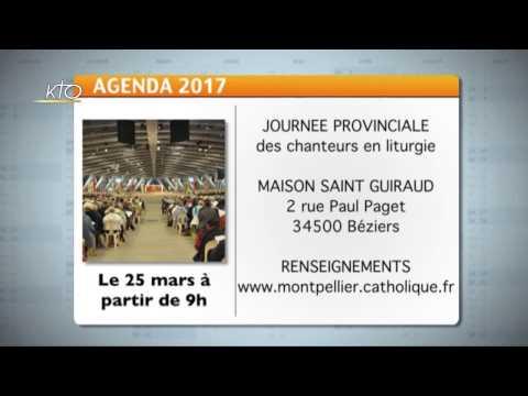 Agenda du 20 février 2017