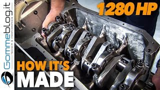 BMW F1 Car BT52 1280 HP   Engine Assembly (HOW IT'S MADE   CAR FACTORY)