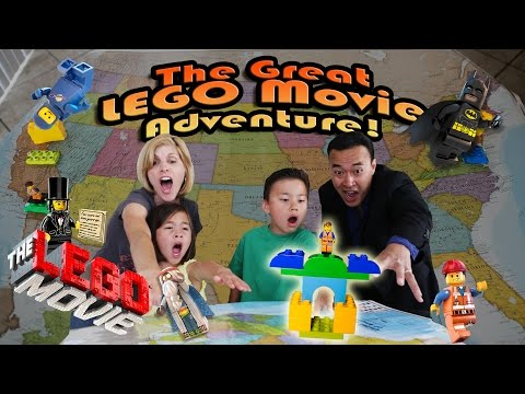 The GREAT LEGO MOVIE ADVENTURE! Episode 1 – LEGOLAND