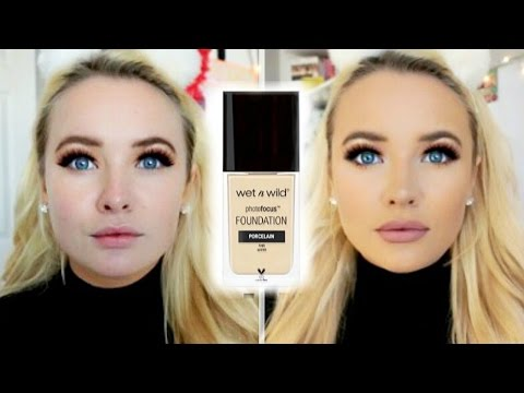 *NEW* WET N WILD PHOTOFOCUS FOUNDATION | First Impression & Review