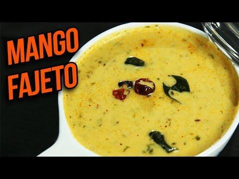 Mango Fajeto Recipe – Mango Kadhi – Mango Curry – Summer Special Mango Recipe – Ruchi Bharani